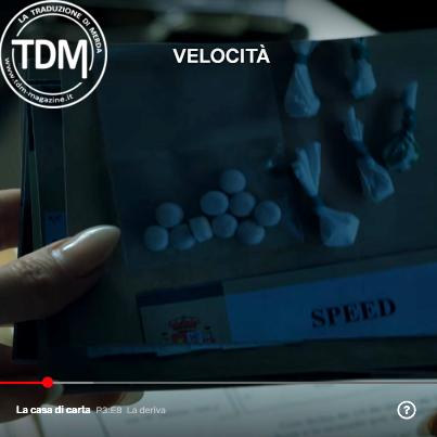 Un errore di traduzione nei sottotitoli Netflix della Casa di Carta, terza stagione